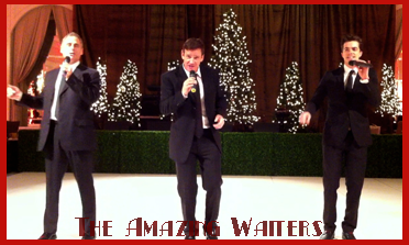 The Amazing Waiters | Three Singing Waiters, performing a Live Holiday Show in Dallas, Texas